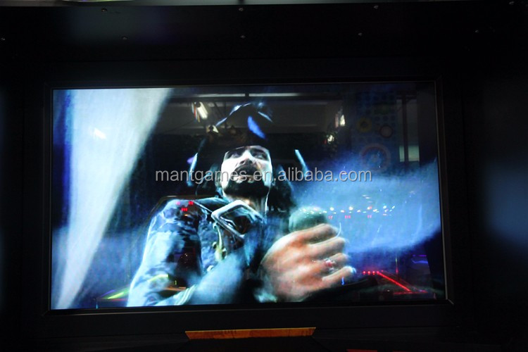 "55"" LCD Deadstorm Pirates Shooting Arcade Game Machine Video Game Machine Adult Shooting Game"