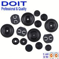 Customized solid rubber rod