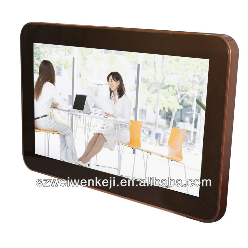 wifi bus lcd advertising player with nice sound quality TV player