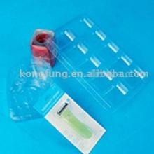 clear acetate plastic blister tray for food