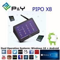2016 HOT selling Pipo X8 Newest TV Box PIPO X8 X7 X7S Intel Z3736F 2G/32G with Bing+Android 4.4 7 Inch Screen