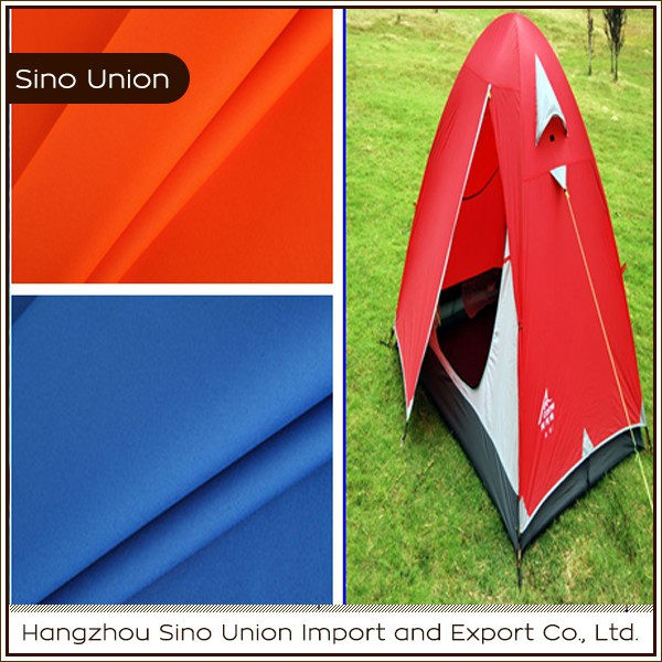 Breathable fireproof waterproof military polyester tent fabric