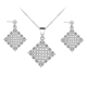 SZ4-08 Trendy 925 Sterling Silver Jewelry Sets Hight Quality Jewelry Wholesale