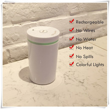 New Electric Oil Diffuser Wireless and Quiet Essential Nebulizing