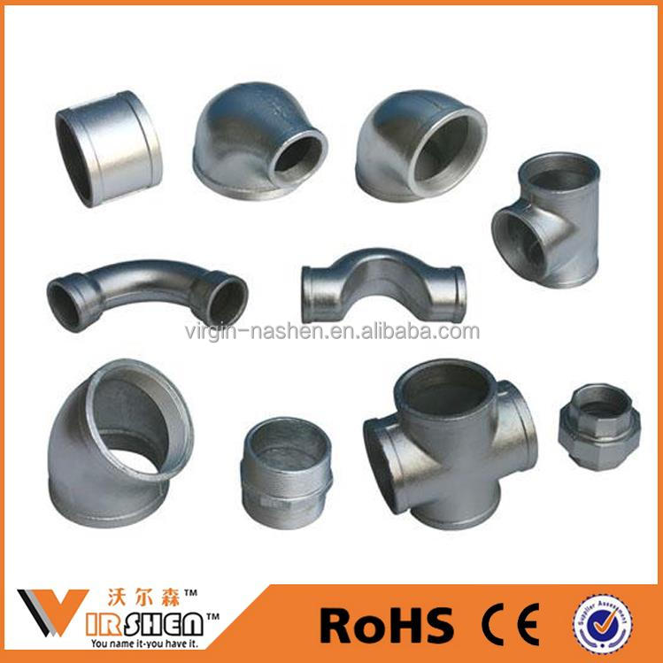 bellmouth pipe fitting manufacturer galvanized steel pipe fitting dimensions