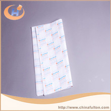 Customized News Print Greaseproof Paper For Food Wrap