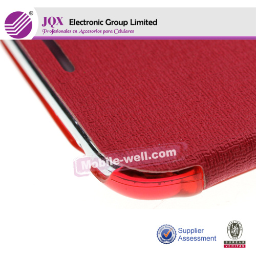 Luxury PU Flip Leather Case Cover For Samsung Galaxy Note 2 II N7100