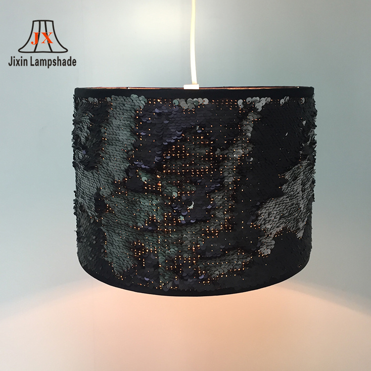 wholesale plastic pvc material double layer foil frames lampshade