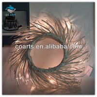 Household decorations led artificial christmas tree wreath