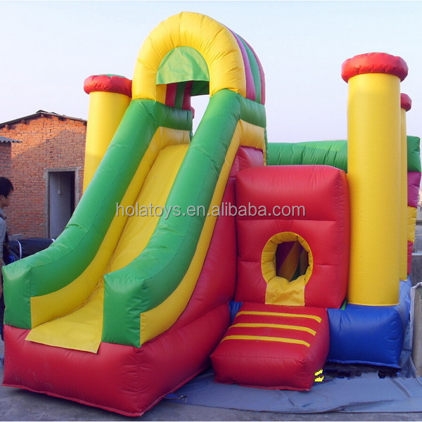 Hola mashroom red bounce house/bouncy castle/inflatable castle jumper