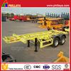 2 / 3 axles 20ft /40ft frame skeleton container semi trailer chassis with twist locks
