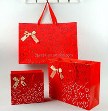 mickey mouse paper bag/ bag in box for wine/ gift packing paper bag
