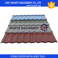 industrial Cheap Classical Color stone metal roof tile for wholesale