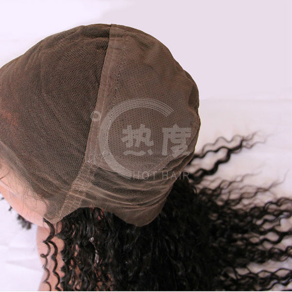 Hot new products for 2014 brazilian hair kinky curly afro full lace wig for black women men