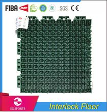 High-strength safety anti-skating pp synthetic basketball court sports flooring