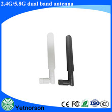 Factory Price Omni Indoor Dual Band 2.4G 5Ghz Ubiquiti WiFi Rubber Duck Antenna with SMA Connector for Router
