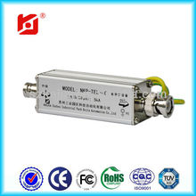 high performance Coaxial lightning surge diverter for camera/high performance Coaxial signal lightning protector NKP-TEL-4C