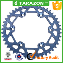 CNC Machining aluminum alloy motorcycle rear sprockets for yamaha