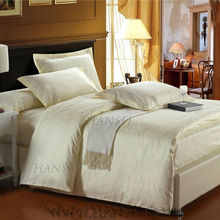 golden color jacquard style luxury hotel linen