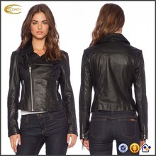 fashion design side zipper faux leather jackets for men from china
