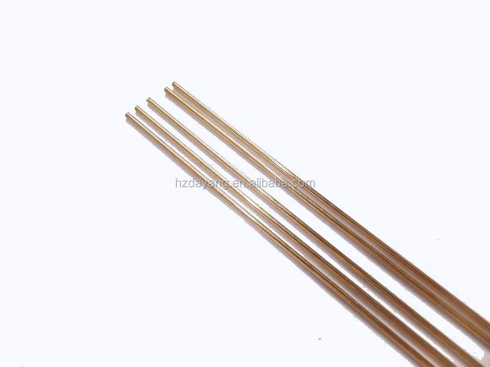 Brass gas welding rods brazing rod sw cuzn