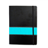 Leather agenda good quality note book 2018 with custom own logo