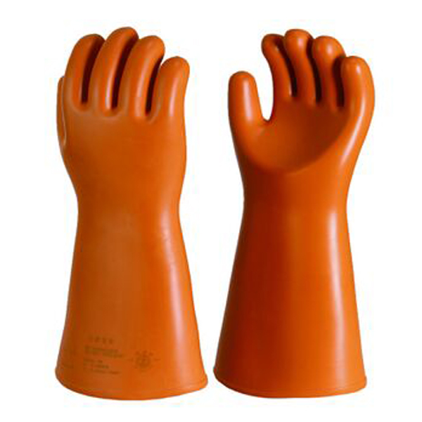 safety protection lineman smooth surface electrical gloves class 4