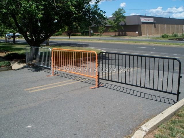 1100*2100 mm event used Powder coated crowd control barrier