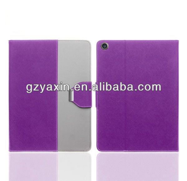 New design pu leather case for ipad 5,tablet leather case for ipad 5