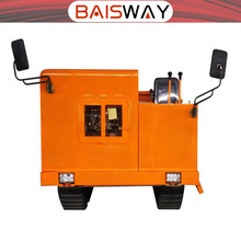 Snow remover Track crawler dumper truck with 4 ton loading hopper
