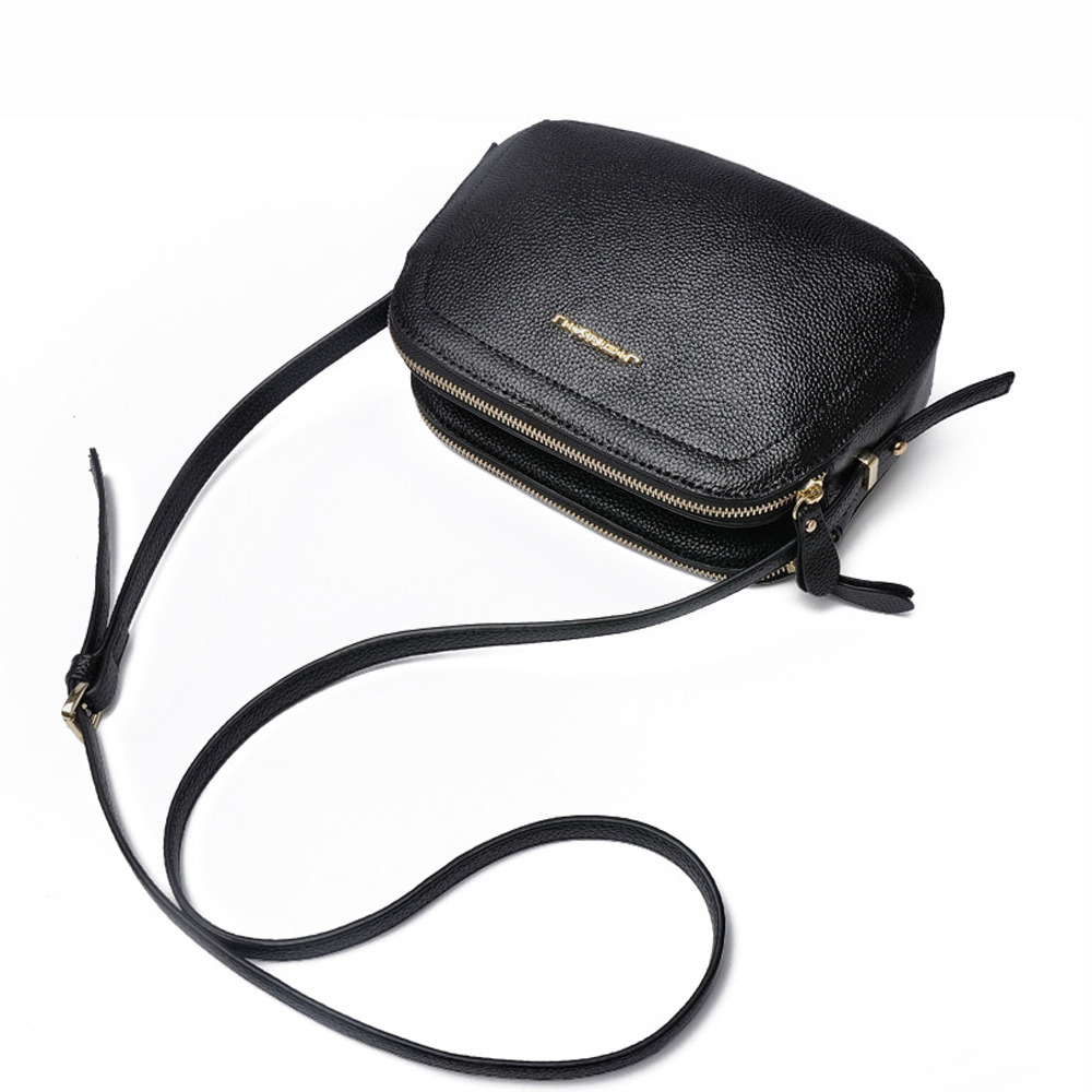 wholesale mini italian genuine leather girls cell phone shoulder bag