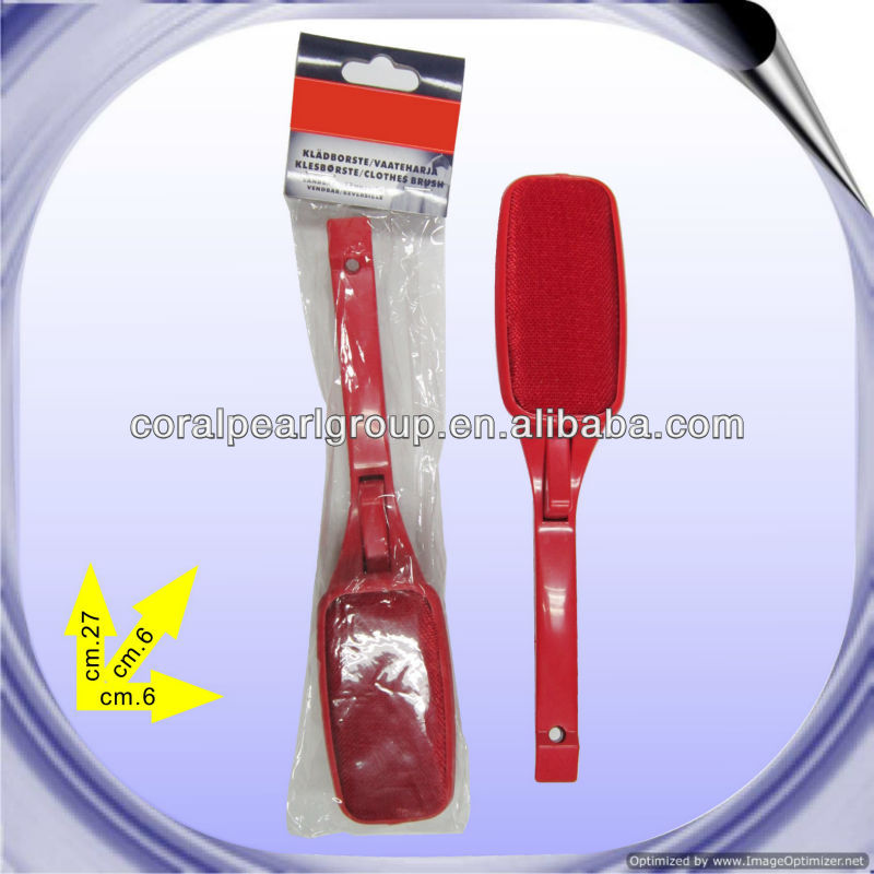 Red Plasitc Lint Brush