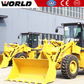 Hot sale 3 tons wheel loader W136 small front loader with ROPS & FOPS