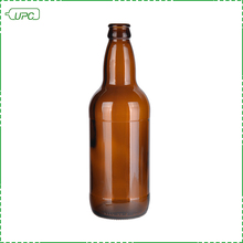 Recyclable empty amber glass beer bottle 500ml price