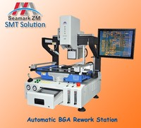 HD Optical Alignment zm6823 infrared rework machine bga leaded solder ball