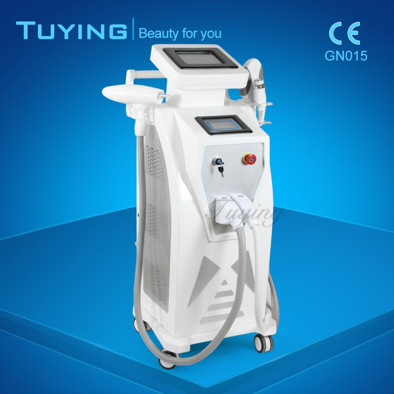 Beauty salon equipment permanent OPT E- light laser Hair Removal machine for Acne skin therapy