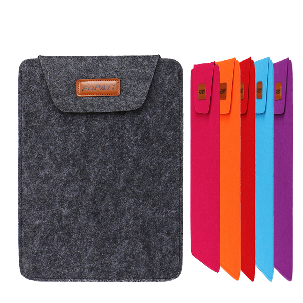 Woolfelt Cover Case for Apple Macbook Air Pro Retina Laptop Case Cover for ipad 11 12 13 15 Inch Protective Laptop Bag Sleeve