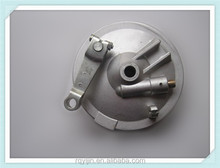 China OEM motorcycle drum rear and front wheel hub cover factory for Indonesia