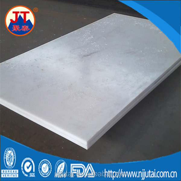 Wear and impact resistant virgin white UHMWPE sheets