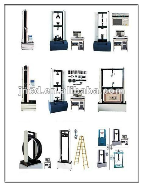 10kn Computerized electronic universal testing machine+belt tension gauge+chinese electronics manufacturers