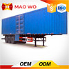 Howo wing van cargo tranportation truck for sale