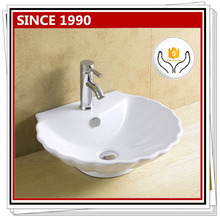 8046 Ceramic modern bathroom sinks above counter mount