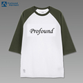 wholesale raglan raglan baseball two color t shirt