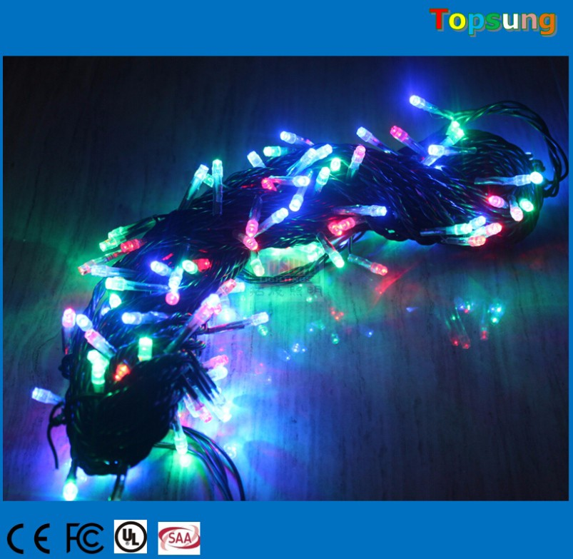 Top quality water-proof led string christmas lights led mini christmas lights