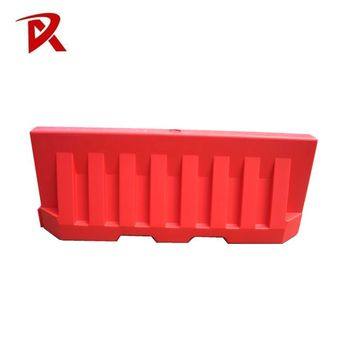 High Quality durable pvc traffic safety plastic car road barrier rubber barrier