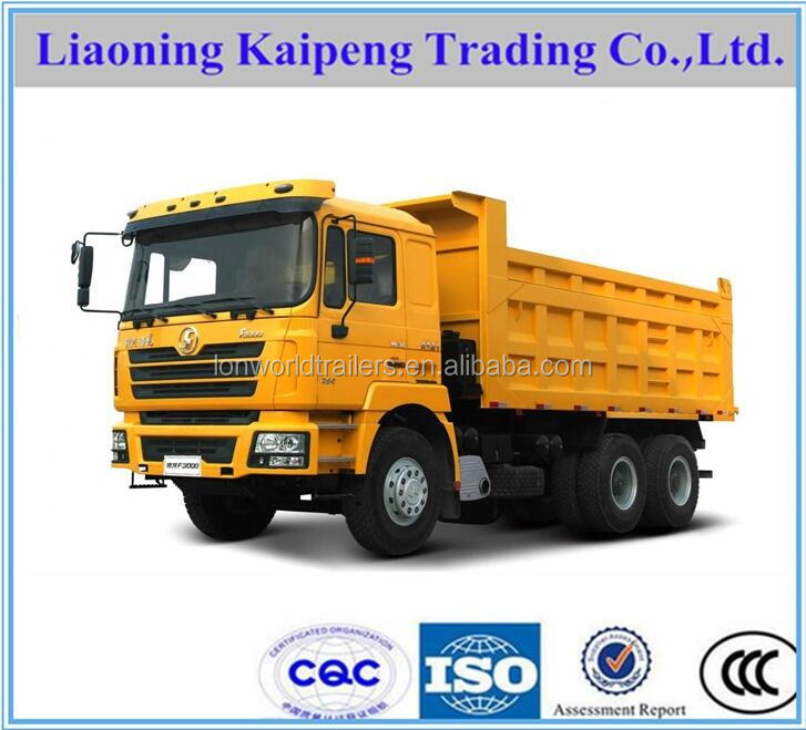 Chinese SHACMAN 10 wheel tipper/dump truck/tipper/dumper truck for sale