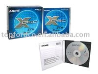 blank cd dvd in slim jewel case