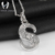 China letter S shape 925 sterling silver jewelry manufacturer