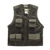 ODM multi pocket outdoor travel photography journalist mesh vest