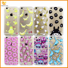 3d eyes cute color printing pc+tpu hard case for iphone 6 plus